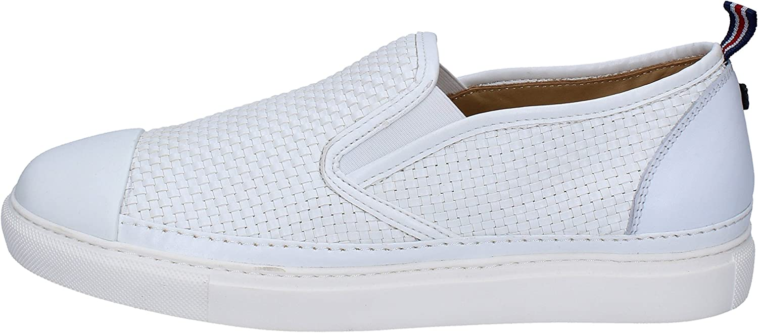 BRIMARTS Loafers-shoes Mens Leather White