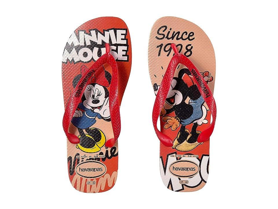 4204d043f Havaianas Disney Stylish Flip Flops (Rose Nude) Women