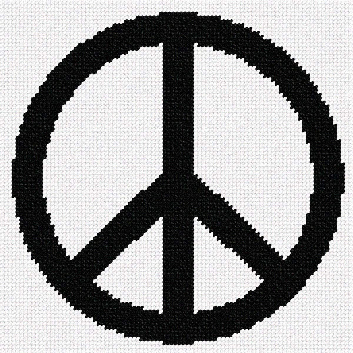 pepita Peace Sign Needlepoint Bargain Max 52% OFF Kit