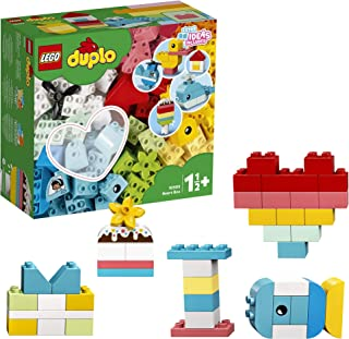 LEGO DUPLO Classic Heart Box 10909 First Building Playset and Learning Toy for Toddlers, Great Preschooler's Developmental...