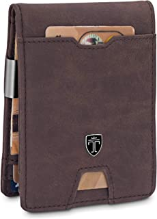 Money Clip Wallet with Coin compartment