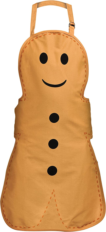 Premier Housewares Gingerbread Man Adult Apron 86 X 69 X 1 Cm Amazon Co Uk Kitchen Home