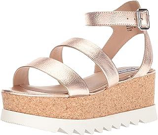 6658fd3a014 Amazon.com  Steve Madden Women s Wedge   Platform Sandals