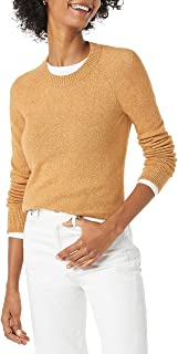 Amazon Essentials Women's Classic-fit Soft-Touch Long-Sleeve Crewneck Sweater