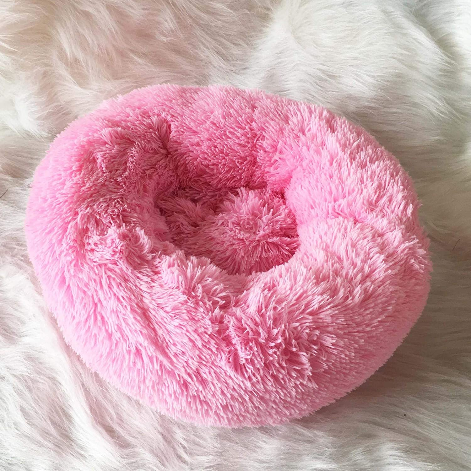 NC Autumn and Winter Thick Beauty products Plush deep pad Round sold out Sleep pet Kennel