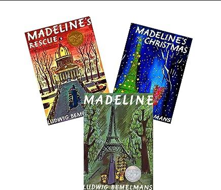 Madeline Storybook Collection (3) : Madelines Christmas - Madelines Rescue - Madeline (Children Book Sets : Kindergarten - Grade 2) by Ludwig Bemelmans (2002-01-01)