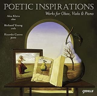 Poetic Inspirations : Works for Ob Va & Pno