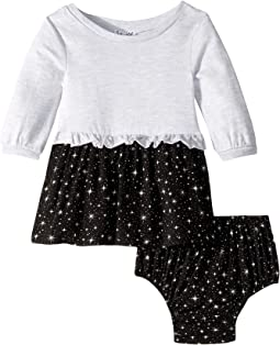 Star Print Dress (Infant)