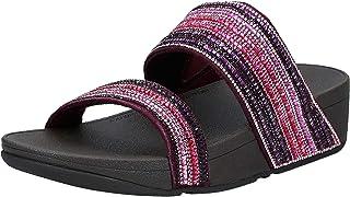 FitFlop Rosa Crystal Mosaic Slides womens Women Fashion Sandals