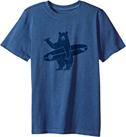 Life is Good Kids - Surf Bear Crusher Tee (Little Kids/Big Kids)