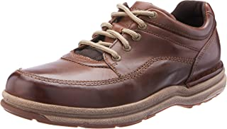 ROCKPORT Men's World Tour Classic Shoe, Brown