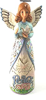 Jim Shore HWC Peace Be with You Peace Angel with Dove Figurine 4056953 New