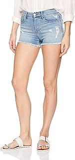 Heart .Attack sunmmer Summer Solid Hole Black Shorts Skirts High Waist Denim Skirts Woman Jeans White Shorts,White,36