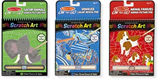 Best scratch art animals Reviews