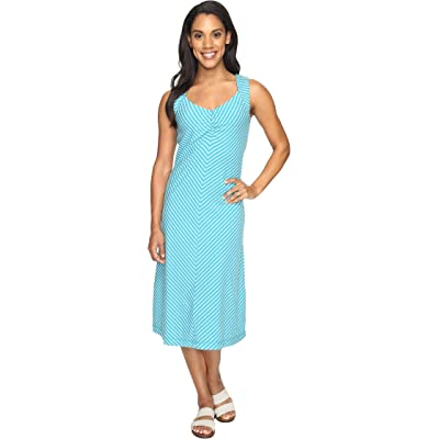 Royal Robbins Active Essential Stripe Dress (Reservoir) Women