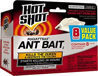 Hot Shot HG-2048 MaxAttrax Ant Bait, Child-Resitant Bait...
