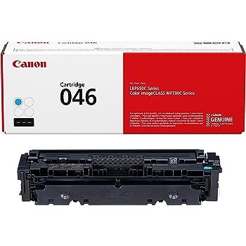 Canon Genuine Toner, Cartridge 046 Cyan (1249C001), 1 Pack, for Canon Color imageCLASS MF735Cdw, MF733Cdw, MF731Cdw, LBP654Cdw Laser Printers