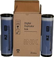 2 Blue Wholesale Widgets Brand Universal Inks, Compatible with Riso RZ Series Duplicators RISRZBLUEC