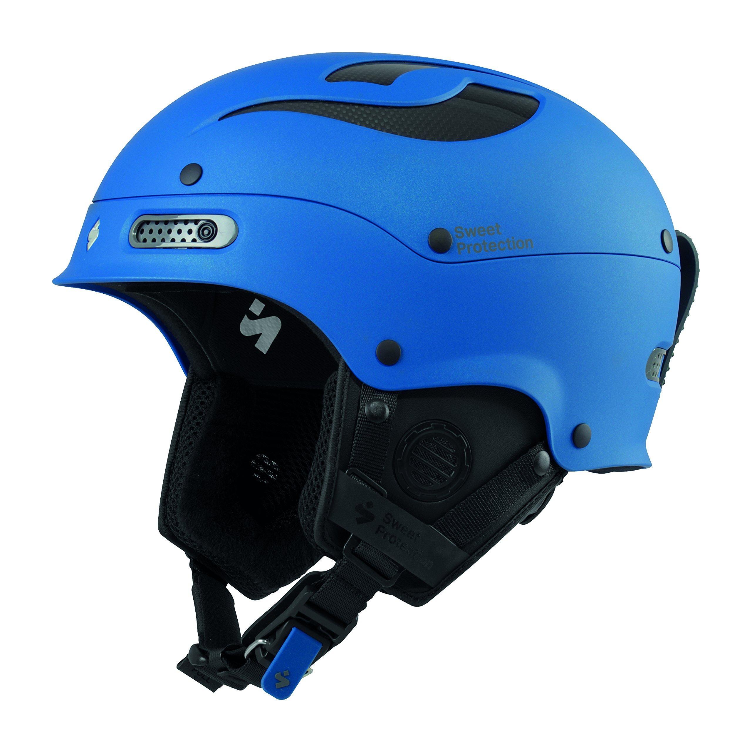 Sweet Protection Trooper II Helm, Matt Flash Blue, S