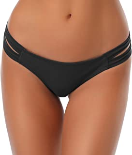 SHEKINI Donna Fashion Stile Bikini Perizoma Nuoto Tronchi Brasiliano Bikini Bottom Sexy Thong Pantaloni Costumi da Bagno T...