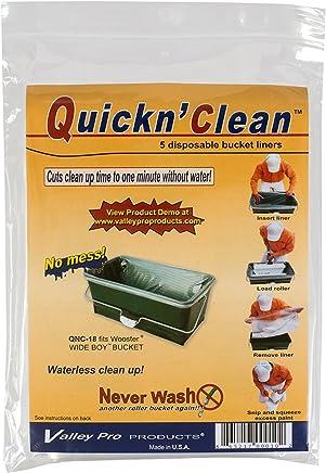 Wooster 221011 R472 Quickn Clean Wideboy 渔具桶衬垫(5 只装)