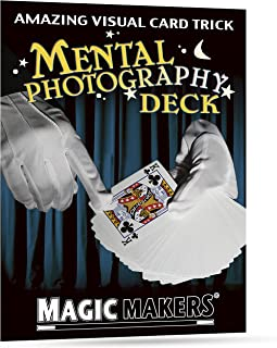 Magic Makers Pro Brand Mental Photography Deck - Instructional Magic Training Included