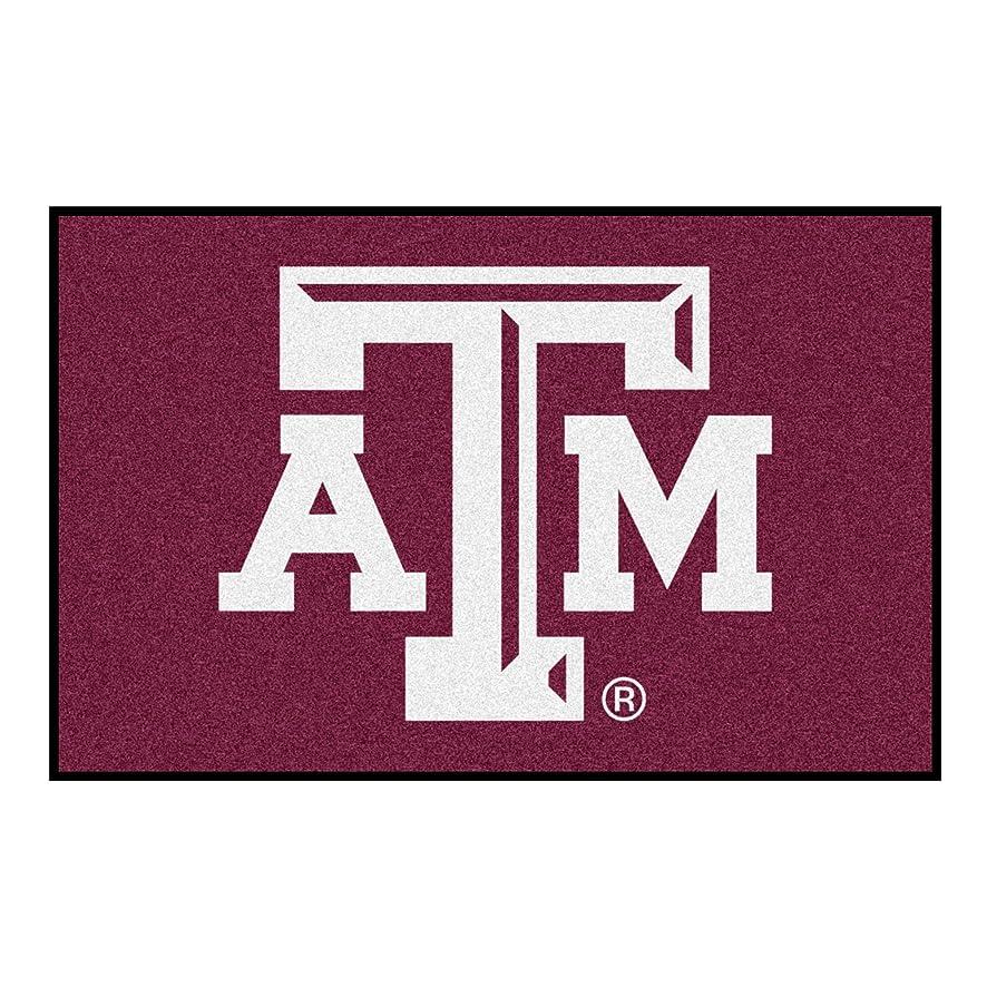 FANMATS NCAA Texas A&M University Aggies Nylon Face Starter Rug
