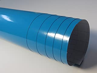 Babyblau Glanz Autofolie 20 x 1,52 m selbstklebend mit Luftkanälen (4,28€/qm) größere Mengen ab 4,06€/qm