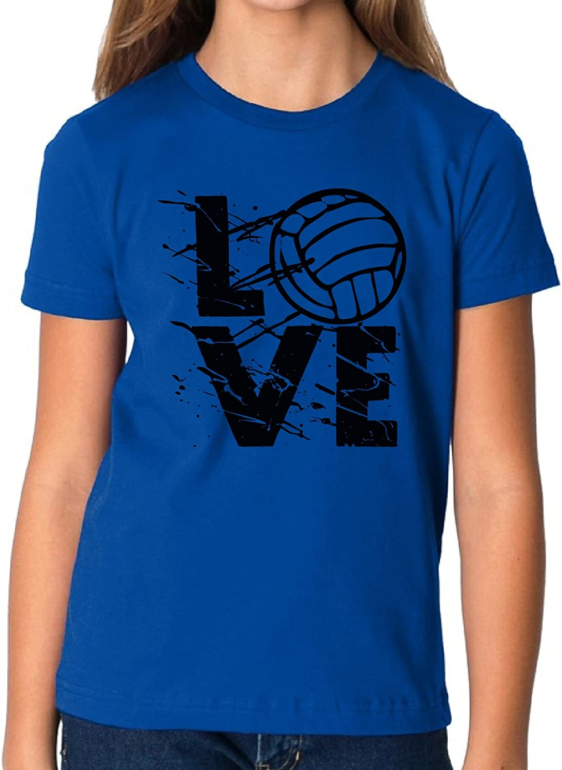 Vizor Volleyball Love Youth T Shirts Tees for Volleyball Lovers