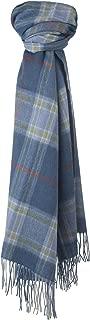The Tartan Blanket Co. Lambswool Blanket Scarf Musselburgh Tartan