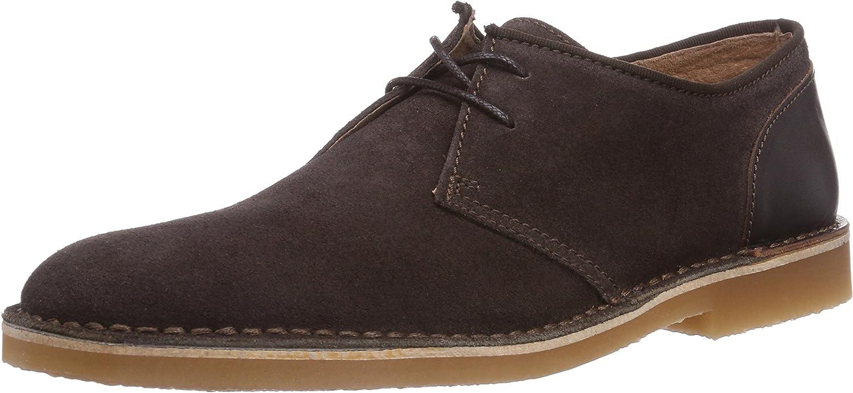 Selected Shleon Mix shoes H, Men's Unlined Desert Boots Short Length
