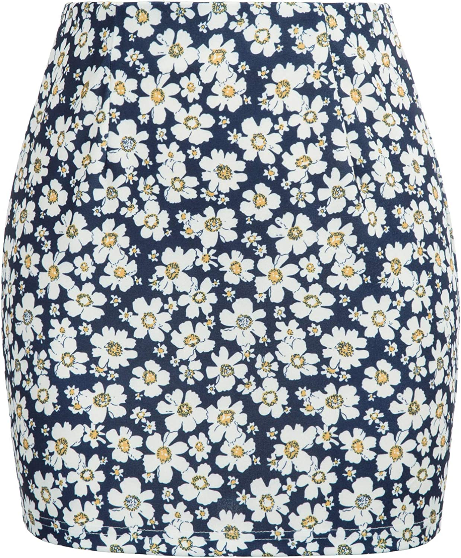 Kate Kasin Women Short Length High Waist Bodycon Mini Pencil Skirt