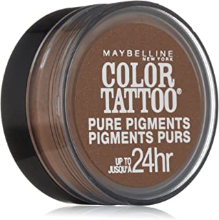 Maybelline New York Eye Studio Color Tattoo Pure Pigments, Downtown Brown, 0.05 Ounce