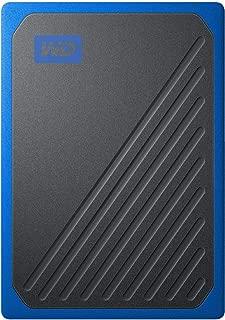 WD SSD 外付 ポータブル 2TB My Passport Go ブルー WDBMCG0020BBT-WESN USB3.0 / 3年保証 【PlayStation4 メーカー動作確認済】