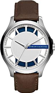 Armani Exchange Men's AX2187 Brown  Leather Quartz Watch