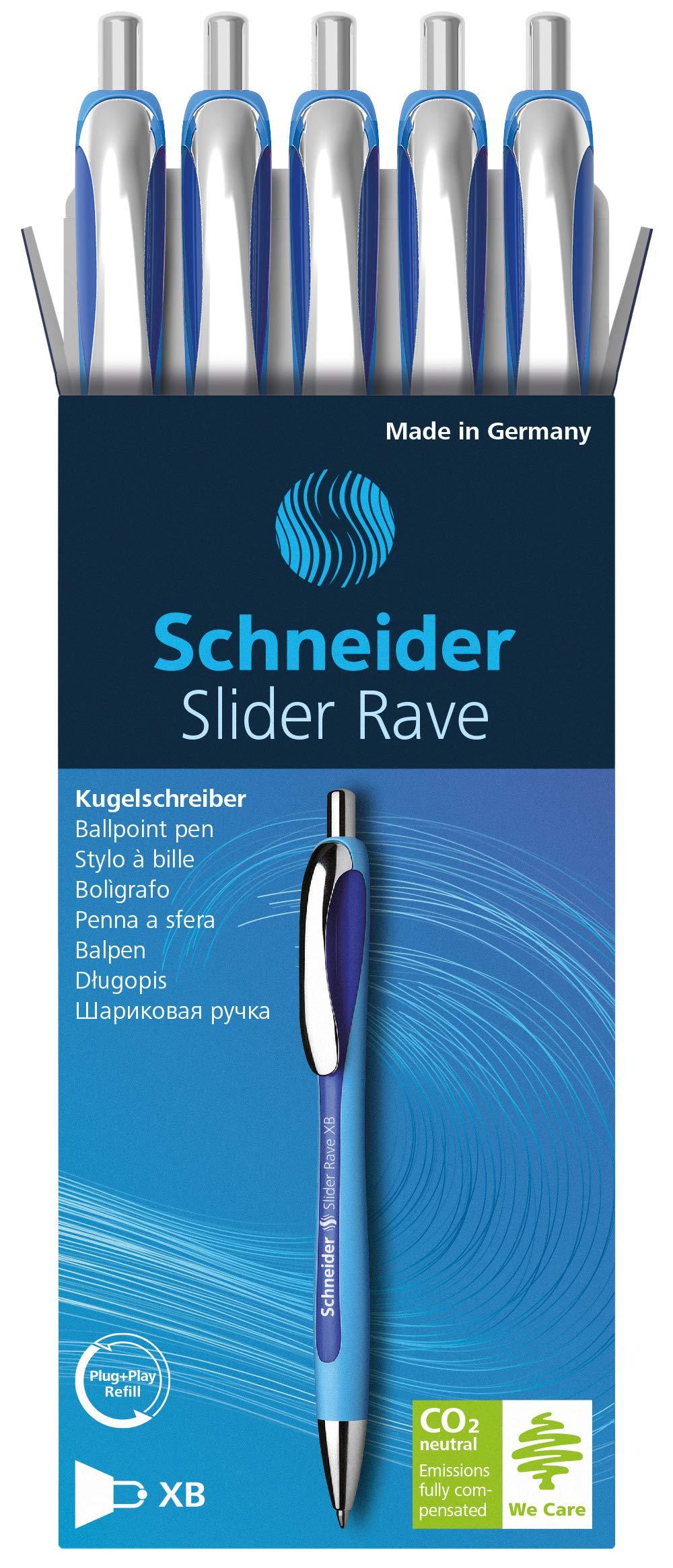 Black 132501 Schneider Slider Rave Retractable