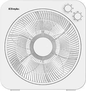 DIMPLEX DCBOX30W 30 cm Box Fan- White Finish