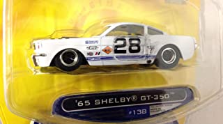 DUB CITY BIG TIME MUSCLE / '65 SHELBY GT-350 / White / Wave 12 / 1:64 Scale Die-Cast Collectible / JADA Toys 2007