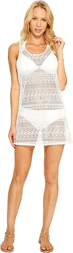 Tank Crochet Dress Cover-Up