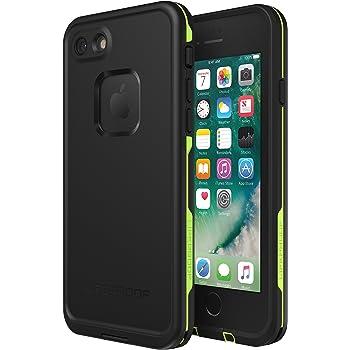 Lifeproof FRĒ SERIES Waterproof Case for iPhone SE (2nd gen - 2020) and iPhone 8/7 (NOT PLUS) - Retail Packaging - NIGHT LITE (BLACK/LIME)