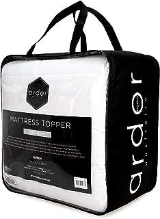 Ardor Premium Mattress Topper,Double,White