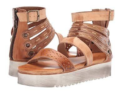 Bed Stu Artemia (Bone Mustard/Tan Rustic) Women