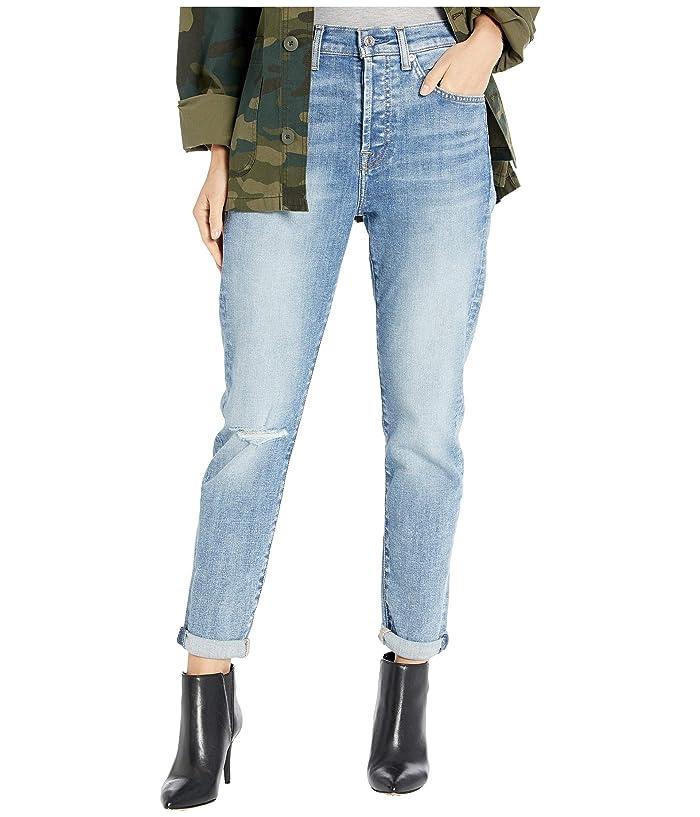7 For All Mankind  High-Waist Josefina in Nolita Blue 3 (Nolita Blue 3) Womens Jeans
