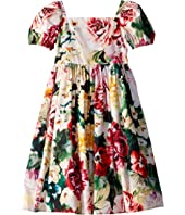 Dolce & Gabbana Kids - Flowers Mix Dress (Little Kids)