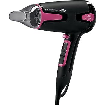 Rowenta Moveling CV3812F0 - Secador de pelo, 2100 Effiwatts, efecto anti estático, iónico, 2 velocidad, keratina aporta brillo, ligero y compacto