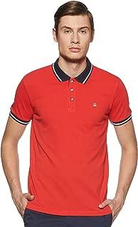 United Colors of Benetton Men's Plain Regular fit Polo