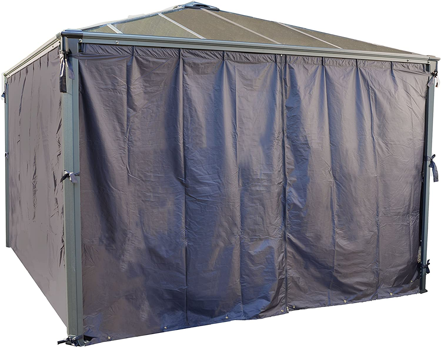 Palermo 4300 Gazebo Max 84% Today's only OFF Curtain 4 piece - set