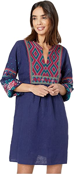 Annaliese Bishop Sleeve Peasant Dress
