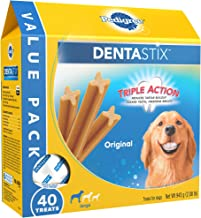 PEDIGREE Dentastix Dental Treats for Dogs, Chicken & Grain Free - Large (30 lb +)