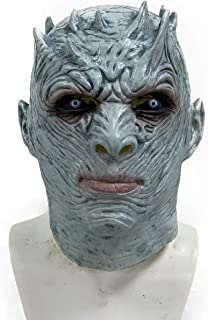 FortParty - King of Night -Game Halloween Mask - Thrones Mask for Halloween Costume Cosplay Game Party Festival